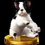 Trofeo de Nintendog SSB4 (Wii U)
