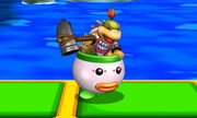Burla lateral Bowser Jr. SSB4 (3DS)