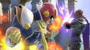 Captain Falcon junto a Ganondorf SSBU