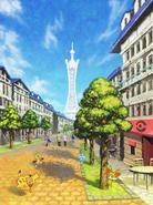 Ciudad Luminalia Pokémon X e Y
