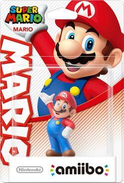 Embalaje del amiibo de Mario (serie Mario)
