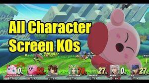 K.O. de pantalla en Super Smash Bros