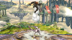 Lanzamiento hacia arriba Mewtwo (4) SSB4 (Wii U)