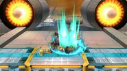 Lanzamiento inferior de Captain Falcon (2) SSB4 (Wii U)