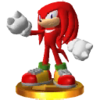 Trofeo de Knuckles SSB4 (3DS)