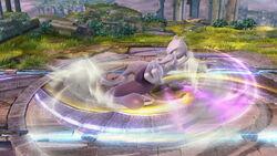 Ataque de recuperación por golpe Mewtwo SSB4 (Wii U)