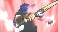 Créditos Modo Senda del guerrero Ike SSB4 (3DS)