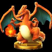 Trofeo de Charizard SSB4 (Wii U)