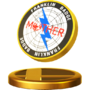 Trofeo del Broche de Franklin SSB4 (Wii U)