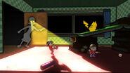 Un Luchador Mii, el Aldeano y Pikachu en GAMER SSB4 (Wii U) (1)