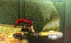 Ataque normal Ike (3) SSB4 (3DS)