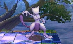 Burla hacia abajo Mewtwo (2) SSB4 (3DS)