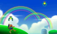 Jefe de Galaga en 3D Land SSB4 (3DS)