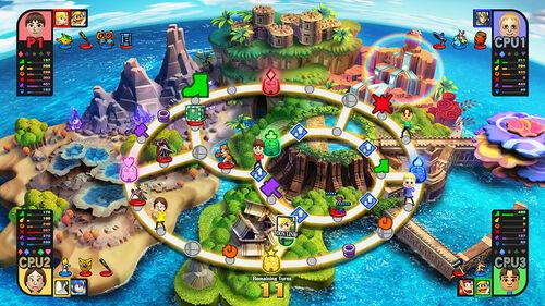 Mapa basico de Mundo Smash SSB4 (Wii U)