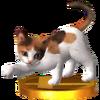 Trofeo de Gato tricolor SSB4 (3DS)