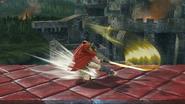 Ataque Smash inferior de Ike (1) SSB4 (Wii U)