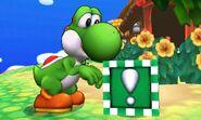 Bloque Verde en SSB4 (3DS)