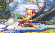 Burla lateral Karateka Mii SSB4 (3DS) (2)