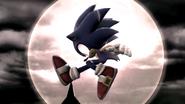 Créditos Modo Leyendas de la lucha Sonic SSB4 (Wii U)