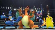 Cuatro Pokémon en el Ring de Boxeo SSB4 (Wii U)