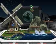 Estadio Pokémon tipo agua