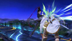 Golpiza Bayonetta SSB Wii U