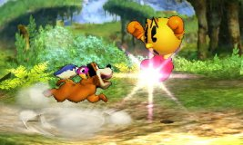 Lanzamiento delantero del Dúo Duck Hunt SSB4 (3DS)