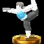 Trofeo de Entrenadora de Wii Fit SSB4 (Wii U)