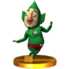 Trofeo de Tingle SSB4 (3DS)