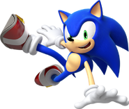 Art oficial de Sonic en Sonic Lost Worlds