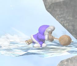 Ataque de recuperación de cara al suelo de Ice Climbers (2) SSBM