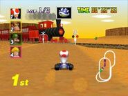Caparazón con Pinchos en Mario Kart 64