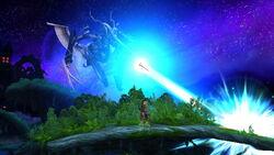 Cara Metálica Rayo láser (2) SSB4 (Wii U)