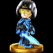 Trofeo de Espadachín Mii (alt.) SSB4 (Wii U)