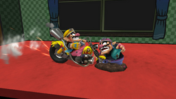 Moto arrolladora (2) SSB4 (Wii U)