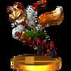 Trofeo de Fox SSB4 (3DS)