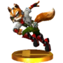 Trofeo de Fox SSB4 (3DS)
