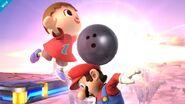 Aldeano atacando (2) SSB4 (Wii U)