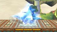 Amor de Nayru en SSB4 (Wii U)