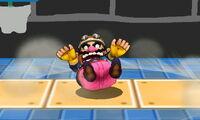 Ataque Smash hacia abajo de Wario (2) SSB4 (3DS)
