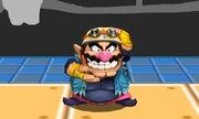 Burla superior Wario SSB4 (3DS) (3)