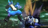 Lucario y Sheik en el Bosque Genesis SSB4 (3DS)