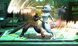 Agarre corriendo Cloud SSB4 (3DS)