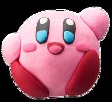 Artwork de Kirby en Kirby y el Pincel Arcoiris