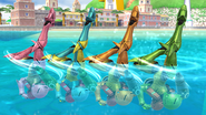 Créditos Modo Leyendas de la lucha Samus SSB4 (Wii U)