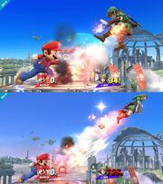 Demostracion sobre la potencia SSB4 (Wii U)
