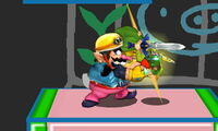Golpiza de Wario SSB4 (3DS)