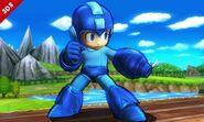 Mega Man en SSB4 (3DS)