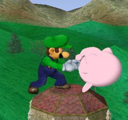 Agarre de Luigi SSBM
