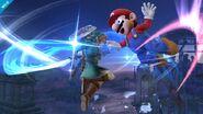 Ataque circular de Link SSB4 (Wii U)